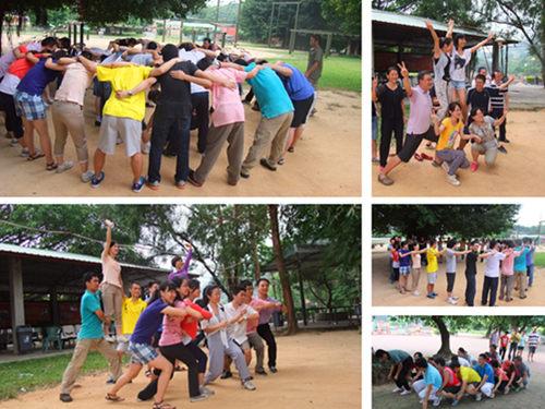 广州大学、广州医学院在笑翻天乐园举办教职工联谊活动3